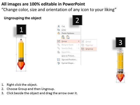 rocket_style_pencil_for_planet_science_powerpoint_templates_2