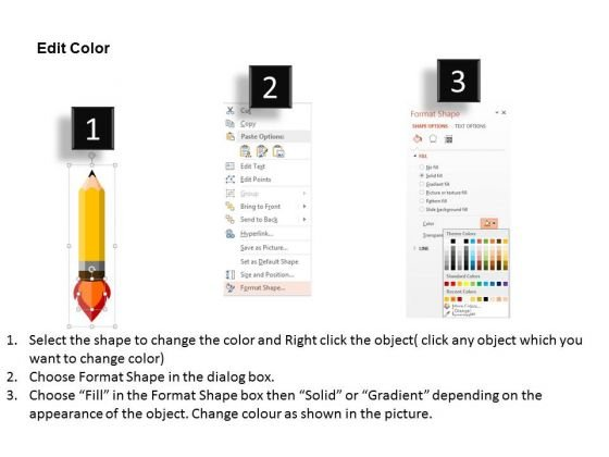 rocket_style_pencil_for_planet_science_powerpoint_templates_3