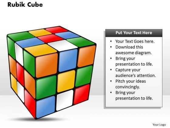 Rubik Cube PowerPoint Presentation Template