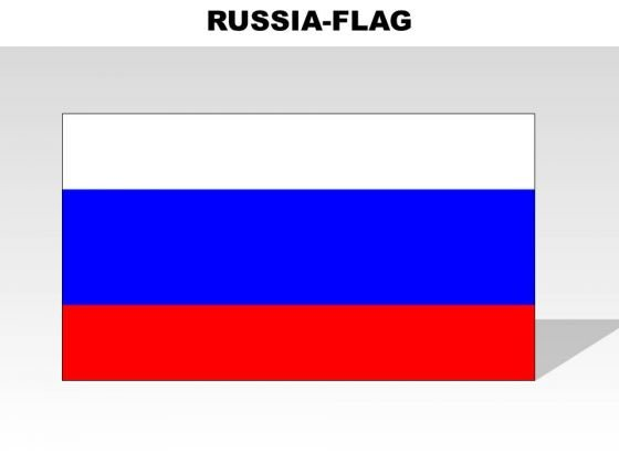 Russia Country PowerPoint Flags