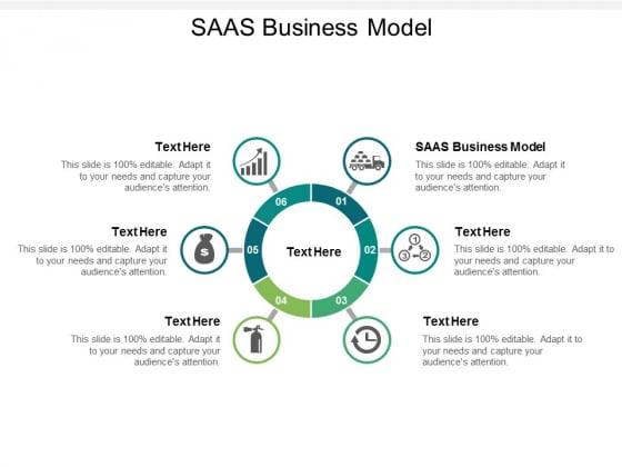 SAAS Business Model Ppt PowerPoint Presentation File Slide Cpb