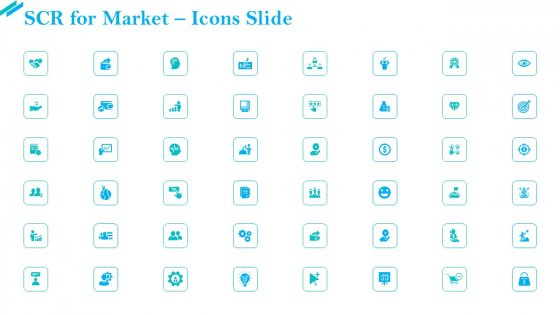 SCR For Market Icons Slide Ppt Pictures Example File PDF