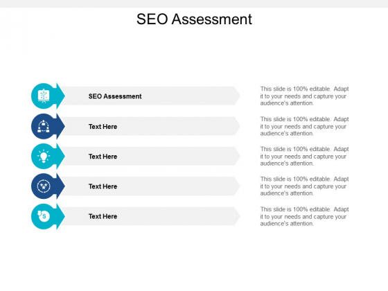 SEO Assessment Ppt PowerPoint Presentation Styles Graphic Images Cpb