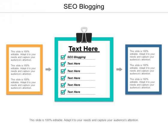 SEO Blogging Ppt PowerPoint Presentation Model Styles Cpb