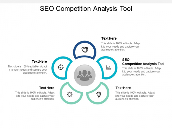 SEO Competition Analysis Tool Ppt PowerPoint Presentation Styles Shapes Cpb