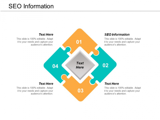 SEO Information Ppt PowerPoint Presentation Gallery Format Cpb