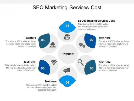 SEO Marketing Services Cost Ppt PowerPoint Presentation Model Themes Cpb