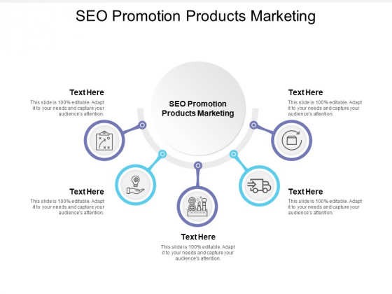 SEO Promotion Products Marketing Ppt PowerPoint Presentation Professional Display Cpb