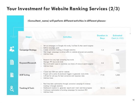 SEO_Proposal_Template_Ppt_PowerPoint_Presentation_Complete_Deck_With_Slides_Slide_12