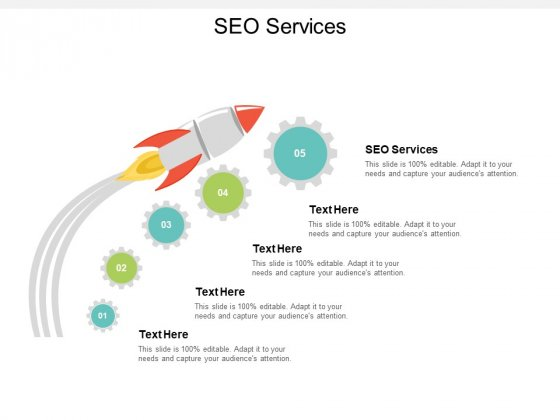 SEO Services Ppt PowerPoint Presentation Pictures Images Cpb