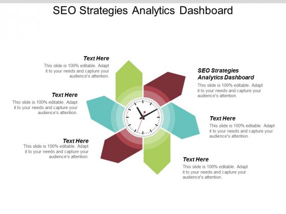 SEO Strategies Analytics Dashboard Ppt PowerPoint Presentation Styles Inspiration Cpb