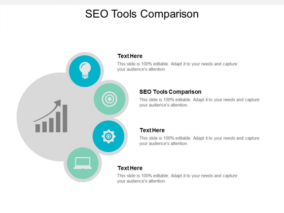 SEO Tools Comparison Ppt PowerPoint Presentation Model Shapes Cpb