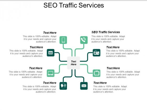 SEO Traffic Services Ppt PowerPoint Presentation Gallery Portfolio Cpb
