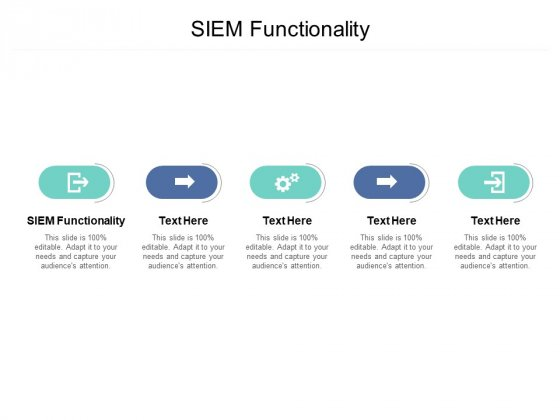 SIEM_Functionality_Ppt_PowerPoint_Presentation_Layouts_Maker_Cpb_Slide_1
