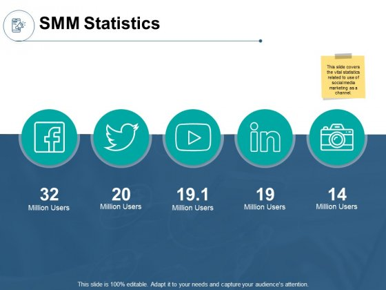 SMM Statistics Ppt PowerPoint Presentation Model Professional
