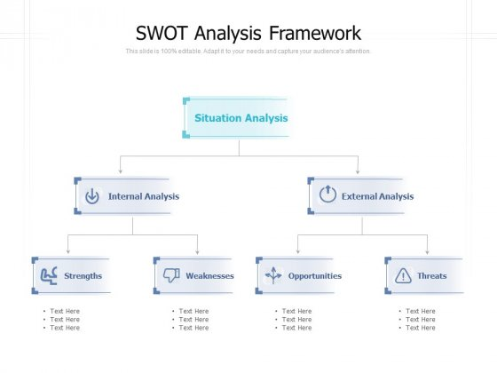 SWOT Analysis Framework Ppt PowerPoint Presentation Model Objects
