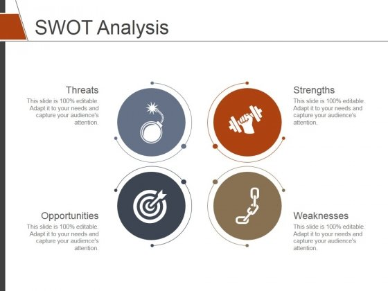 SWOT Analysis Template 2 Ppt PowerPoint Presentation Layouts Show