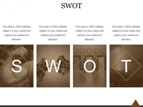 SWOT Ppt PowerPoint Presentation Slide