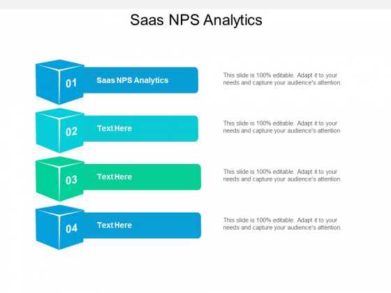Saas NPS Analytics Ppt PowerPoint Presentation Infographics Graphics Download Cpb