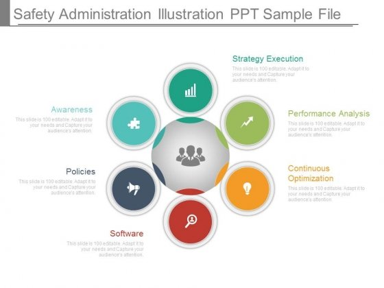Safety Administration Illustration Ppt Sample File