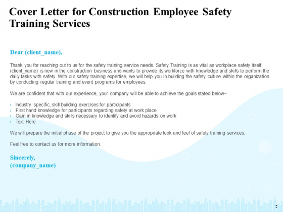 Safety_And_Health_Training_Plan_For_Construction_Employees_Ppt_PowerPoint_Presentation_Complete_Deck_With_Slides_Slide_2