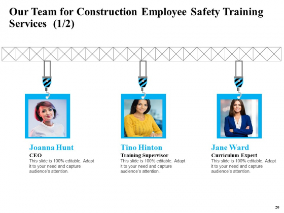 Safety_And_Health_Training_Plan_For_Construction_Employees_Ppt_PowerPoint_Presentation_Complete_Deck_With_Slides_Slide_20