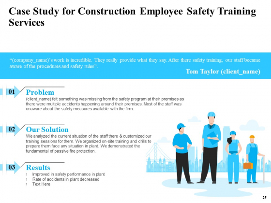 Safety_And_Health_Training_Plan_For_Construction_Employees_Ppt_PowerPoint_Presentation_Complete_Deck_With_Slides_Slide_25