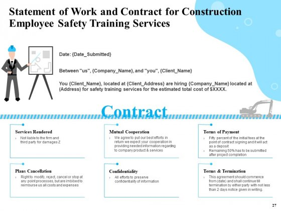Safety_And_Health_Training_Plan_For_Construction_Employees_Ppt_PowerPoint_Presentation_Complete_Deck_With_Slides_Slide_27