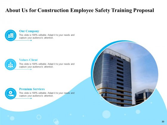 Safety_And_Health_Training_Plan_For_Construction_Employees_Ppt_PowerPoint_Presentation_Complete_Deck_With_Slides_Slide_33