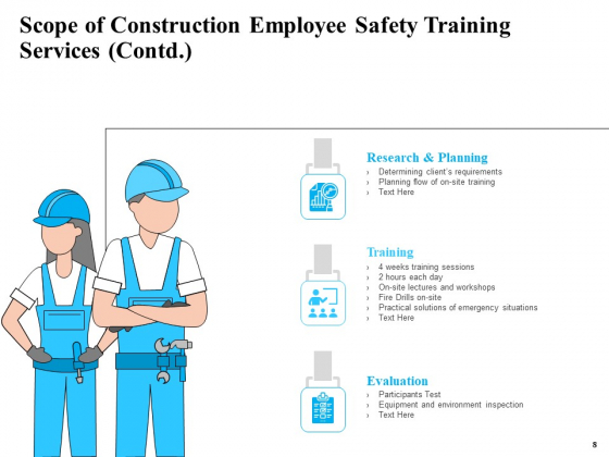 Safety_And_Health_Training_Plan_For_Construction_Employees_Ppt_PowerPoint_Presentation_Complete_Deck_With_Slides_Slide_8