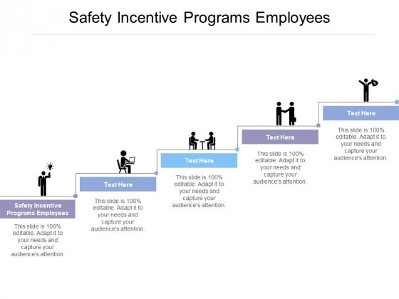 Safety Incentive Programs Employees Ppt Powerpoint Presentation Model Demonstration Cpb