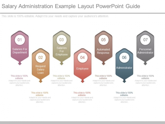 Salary Administration Example Layout Powerpoint Guide