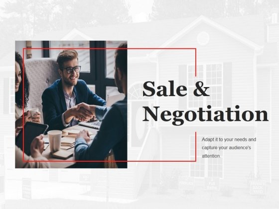 Sale And Negotiation Template 2 Ppt PowerPoint Presentation Slides Infographics