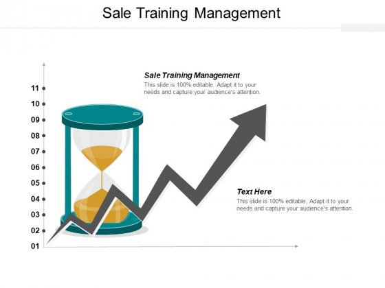 Sale Training Management Ppt PowerPoint Presentation Ideas Infographics Cpb