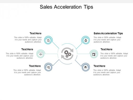 Sales Acceleration Tips Ppt PowerPoint Presentation Pictures Infographic Template