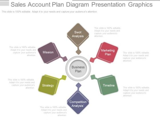 Sales Account Plan Diagram Presentation Graphics