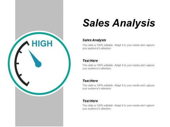 Sales Analysis Ppt PowerPoint Presentation Ideas Layout Ideas Cpb