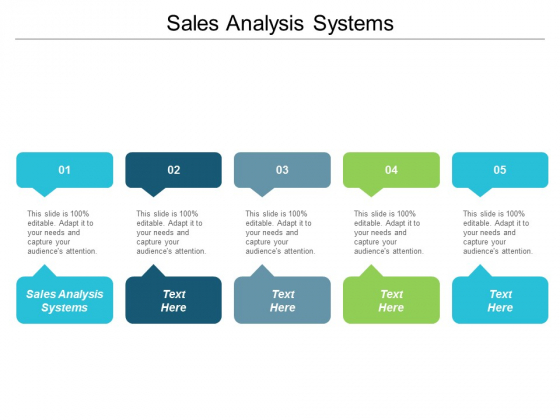 Sales Analysis Systems Ppt Powerpoint Presentation Infographic Template Layout Cpb