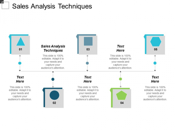 Sales Analysis Techniques Ppt Powerpoint Presentation Summary Format Cpb