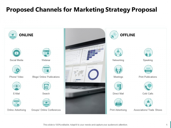 Sales And Business Development Action Plan Proposed Channels For Marketing Strategy Proposal Ppt Icon Demonstration PDF
