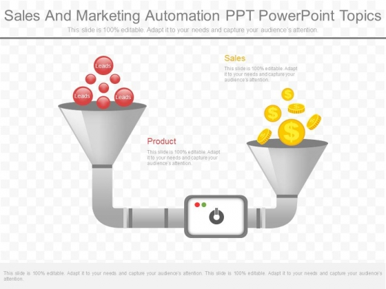 Sales And Marketing Automation Ppt Powerpoint Topics