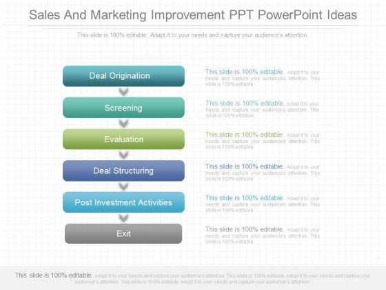 Sales And Marketing Improvement Ppt Powerpoint Ideas
