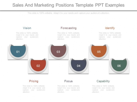 Sales And Marketing Positions Template Ppt Examples