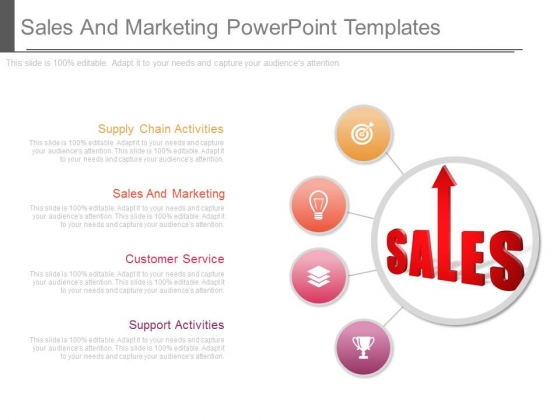Sales And Marketing Powerpoint Templates