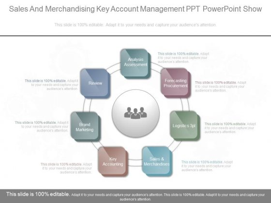 Sales And Merchandising Key Account Management Ppt Powerpoint Show