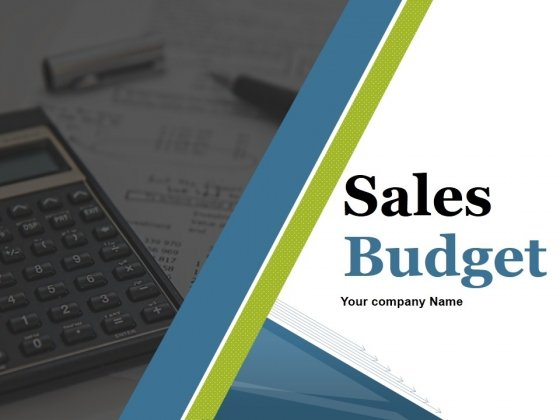 Sales Budget Ppt PowerPoint Presentation Complete Deck With Slides