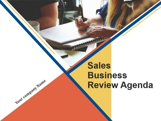 Sales Business Review Agenda PowerPoint Presentation Complete Deck With Slides