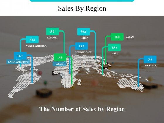 Sales By Region Ppt PowerPoint Presentation Professional Images