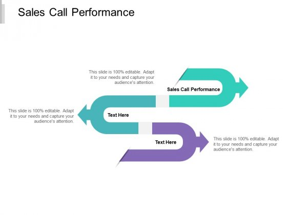 Sales Call Performance Ppt PowerPoint Presentation Styles Outfit Cpb