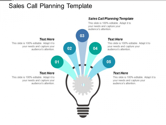 Sales Call Planning Template Ppt PowerPoint Presentation File Layout Ideas Cpb